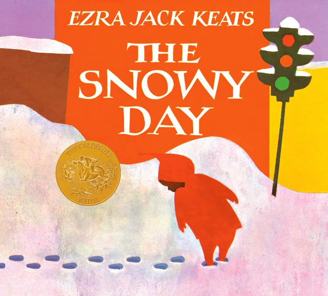 The cover of The Snowy Day by Ezra Jack Keats